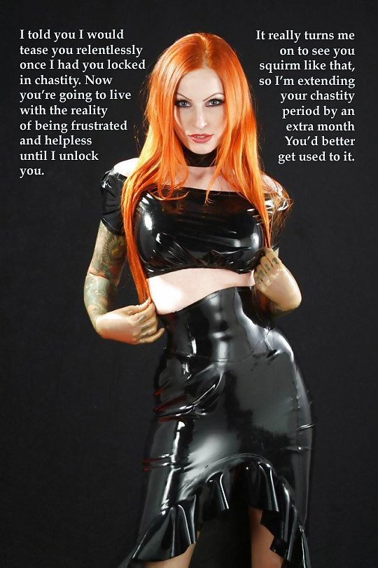 Lyama.net : Chastity Captions - Chastity Captions 11342 Picture Gallery